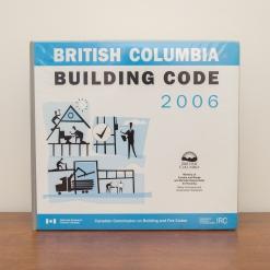 BC Building Code 2006 Binder