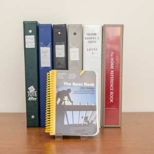 BCIT - Home Insp. Level 1-4 Binders & Architectural Reading Binder