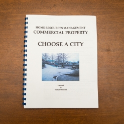 Commercial Property - Booklet Choose A City