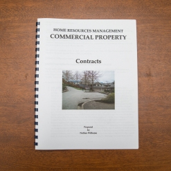 Commercial Property - Booklet - Contracts
