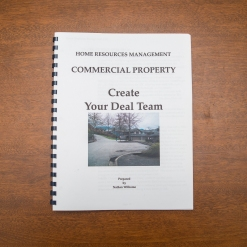 Commercial Property - Booklet - Create Your Deal Team
