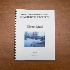 Commercial Property - Booklet - Direct Mail