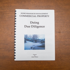 Commercial Property - Booklet - Doing Due Diligence