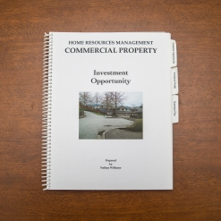 Commercial Property - Booklet - Investment Opportunity