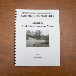 Commercial Property - Booklet - Mistakes RE Investors Make