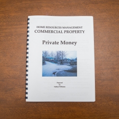 Commercial Property - Booklet - Private Money