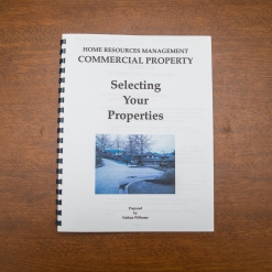 Commercial Property - Booklet - Selecting Your Properties