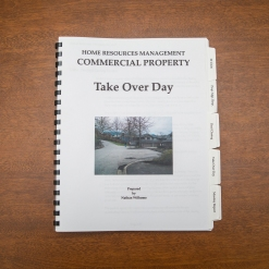 Commercial Property - Booklet - Take Over Day
