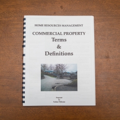 Commercial Property - Booklet - Terms & Definitions