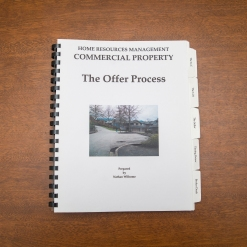 Commercial Property - Booklet - The Offer Process