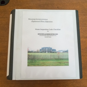 Home Inspectors Code Checklist - 475 page Binder