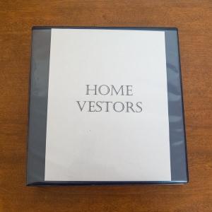 Home Vestors - Binder