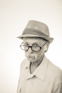 """Old Guy in Glasses - As Tesla once said """"Eistein was wrong, terribly wrong"""""""